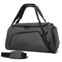 Large Men Backpack Travel Rucksack Hiking Camping Luggage Carryon Duffle Gym Bag