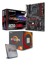 Bundle AMD Ryzen 5 2600X 6x4.20GHz + Gigabyte GA-AB350-Gaming ATX Mainboard