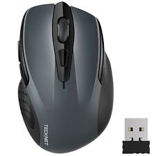 TeckNet Pro Wireless Mouse 2.4G USB Cordless Mice Optical PC Laptop Mouse With 2