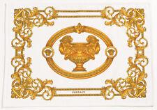 "VERSACE Medusa Le Baroque Bath Mat - White/Gold - 19.7"" x 27.6"""