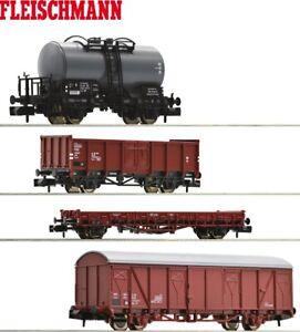 """Fleischmann N 931892-2 Güterwagen-Set der DR 4-teilig """"Neuheit 2020"""" - NEU"""