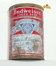 1952 10oz Budweiser Flat Top Split Label Gold Bud Beer Can St.Louis,Mo. Missouri