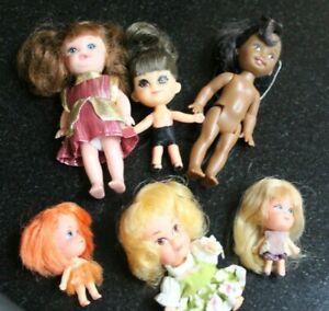 Rare Little  VTG  Liddle Kiddle Mattle Hasbro doll lot 1967