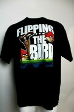 """Angry Birds """"Flipping The Bird"""" 2XL Graphic Tee 100% Cotton"""