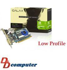 Galax GT 710 1G DDR3 Graphics Card HDMI,DVI-D VGA PCI-e  Low Profile Single slot