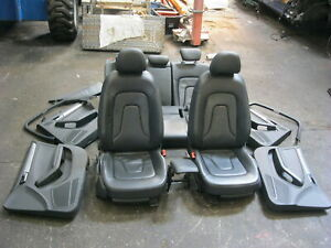 AUDI A4 8K LEATHER INTERIOR SEATS 2008-2015