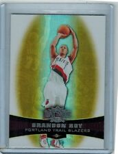 2006-07 TRIPLE THREADS BRANDON ROY #87 ROOKIE GOLD 22/99