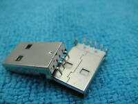 20 USB Type-A 4-Pin Male Panel PCB Mount Connector,J3
