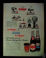 1963 Harmon (Johnny Hart) BC Cartoon Bottle Cup Dr.Pepper AD