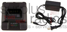 NEW RAPID CHARGER FOR MOTOROLA RADIUS GP300 P1225 P110 GTX800 GTX900 GP350