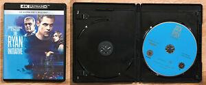 Blu ray 4K Ultra HD THE RYAN INITIATIVE JACK RYAN neuf SANS LE BLU RAY 2D