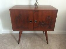 Record LP Cabinet (Mid Century 1950s/1960s) with Tapered Legs