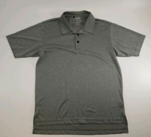 Adidas Climalite Golf Polo Mens Shirt Gray Size S