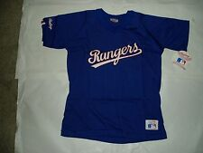 Texas Rangers AL West button down or pullover Rawlings licensed MLB jerseys