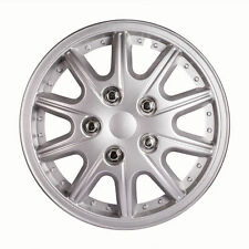 12 Inch 4pcs/Set Car Vehicle Chrome Wheel Rim Skin Cover Hubcaps Wheel Covers US