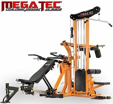 MEGATEC Multiplex Multi Gym MT-MX-WS Station Bench Weight Press Equipment