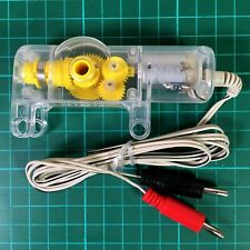 KNEX Gear Box and Motor with cable plugs Pack of TWO New Sealed
