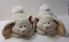 Bunny Rabbits Plush Set of 2 AURORA Twin Stuffed Animal Child Soft Toy Kids Cute