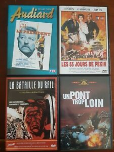 LOT DE 4 DVD ANCIENS FILMS LOT 28