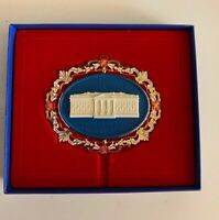 White House Historical Association Christmas Ornament 2000 - Stone White House