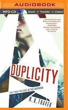 Duplicity by N. K. Traver (2016, MP3 CD, Unabridged)