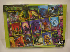 GOOSEBUMPS Puzzle - Classic Book Covers, 24 x 18, 275 pieces -BRAND NEW!