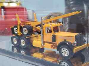 Don Mills Models LT Mack Log Truck with Mirrored Display Case. 1/48th scale.