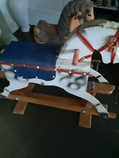 Lovely vintage rocking horse by leeway
