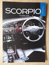 FORD SCORPIO orig 1996-97 UK Mkt sales brochure - Ghia X Ultima