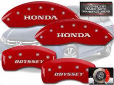 """2011-2017"""" Honda Odyssey"""" Delantero + Posterior Rojo MGP Disco Freno Pinza"""