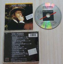 RARE CD ALBUM ON DIRAIT LE SUD NINO FERRER 15 TITRES 1987 VERSION INTEGRALE