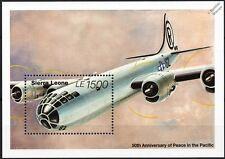Enola Gay Boeing B-29 Superfortress bombardero pesado hoja de sellos aviones de la segunda guerra mundial