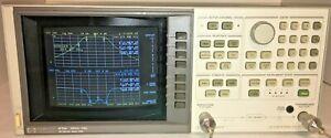 HP 8752A Network Analyzer  ( 300KHz - 3.0 GHz ) option 003