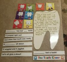 Teacher Lost Tooth Poster Bulletin Board Display With Sentence Strips + Extras
