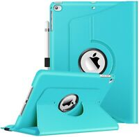 360 Degree Rotating Case Cover For iPad 9.7'' 6th Gen 2018 /iPad 5th Gen 2017