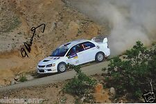 "Rally Driver Didier Auriol Hand Signed Photo Autograph Sokda 12x8"" N"