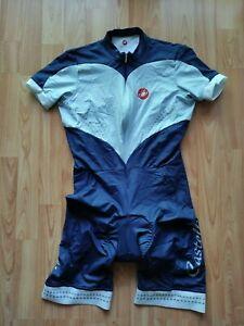 Castelli Premiata Body women's SS Cycling skinsuit ProgettoX2 Pad Size: M NEW!