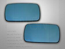 BMW E46 323i 325i 328i 330i 3SERIES SEDAN BLUE POLARIZED MIRROR HEATED GLASS SET
