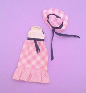 Vintage Barbie Tutti Sunday Dress #2650 European Exclusive - Dress and Hat