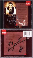 Emmanuel PAHUD & Marie-Pierre LANGLAMET Signed MOZART Flute Concerto Harp ABBADO
