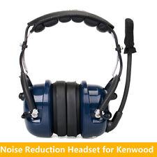 Retevis VOX  Noise Reduction Speaker Aviation MIC Headset for Kenwood Radios