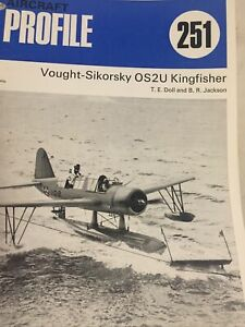 PROFILE PUBLICATIONS AIRCRAFT #251: VOUGHT-SIKORSKY OS2U KINGFISHER (1972)