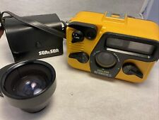New listing Sea and Sea MotorMarine 35mm camera With Wide Angle Conversion Lens Untested