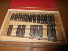 Ancien xylophone GOLDON CHROMATIC ELITE , STIMMREIN A 880 dans sa boite