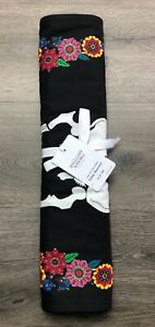 NWT Williams SONOMA Day OF The DEAD 💀🌸 Halloween Table RUNNER 16X108