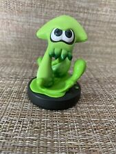 Inkling Green Squid Amiibo Figure