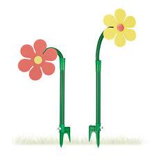 Sprinkler Blume 2er Set, Gartenschlauch Spritzblume, Garten Sprinkler Kinder