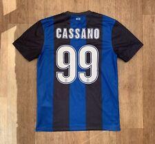 INTER MILAN HOME FOOTBALL SHIRT 2012/2013 #99 CASSANO FOOTBALL JERSEY CALCIO