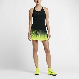 Nike Womens Flex Victory Skirt Black Volt Extra Large XL BRAND NEW * fast ship *