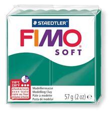 STAEDTLER MODELLIERMASSE FIMO SOFT 57g SMARAGD 100g/3,49€ NEU